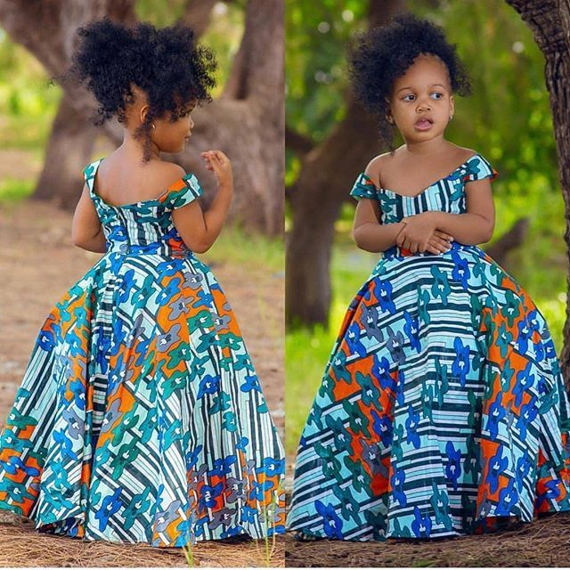Ankara Styles For Kids; Little Girls And Baby Girls Ankara Styles   African  dresses for kids, Latest african fashion dresses, Ankara styles for kids